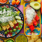 Popular Mexican food